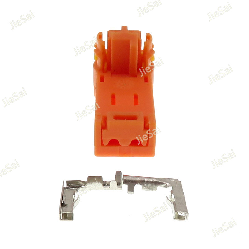 2 Pin Automotive Steering Wheel Hairspring Airbag Plug For Toyota Camry Corolla Crown Highlander