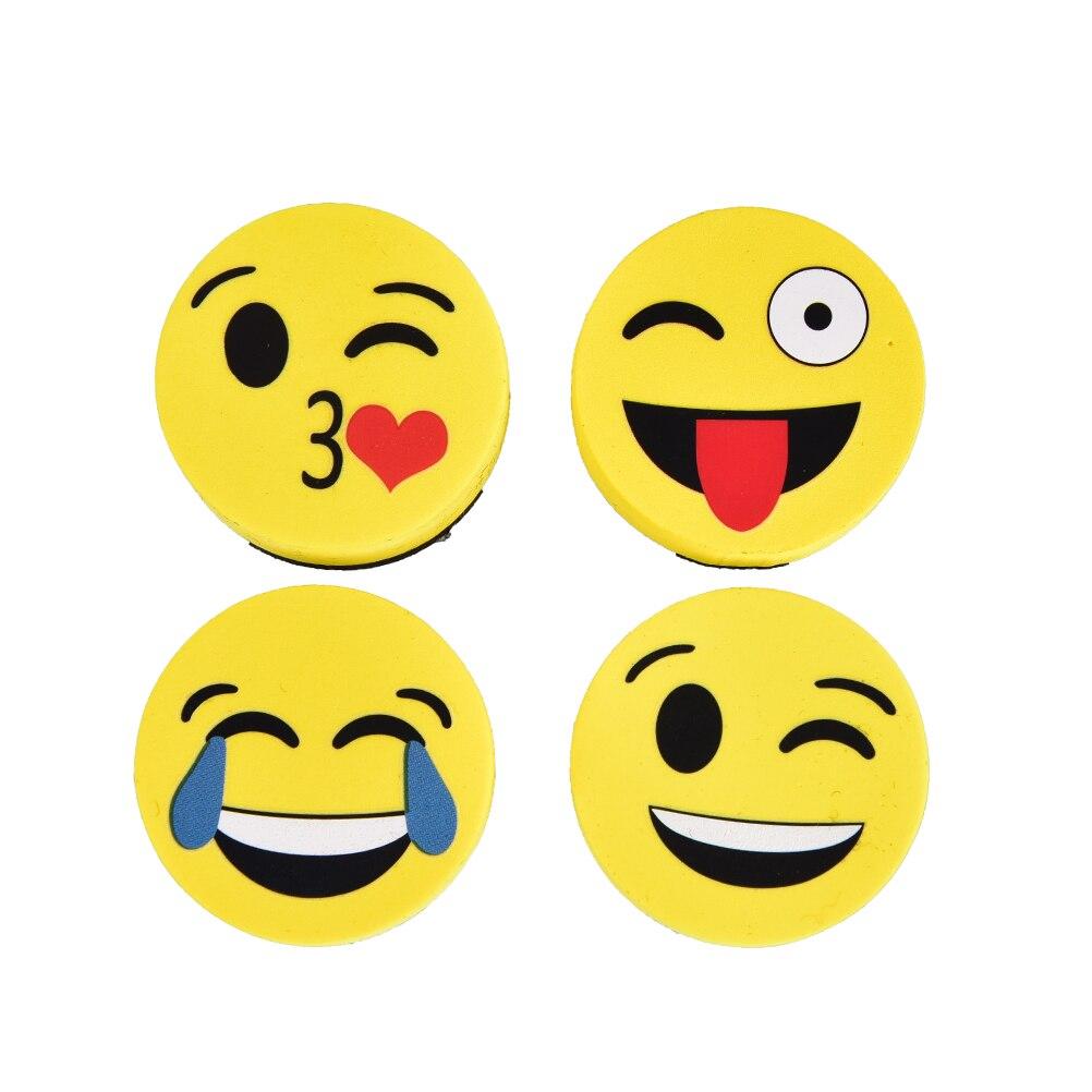 1 шт. Милый emoji лицо Доски Ластик 4 стиля магнитная доска ластики вытереть насухо школьной доске Маркер Очиститель