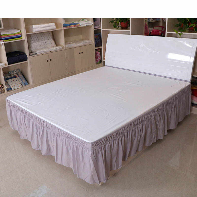 Hotel Queen Size Bed Skirt White