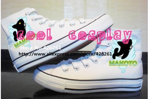 Nueva Iwatobi Swim Club Haruka Nanase Cosplay Rin Rei amantes zapatos Zapatillas de lona