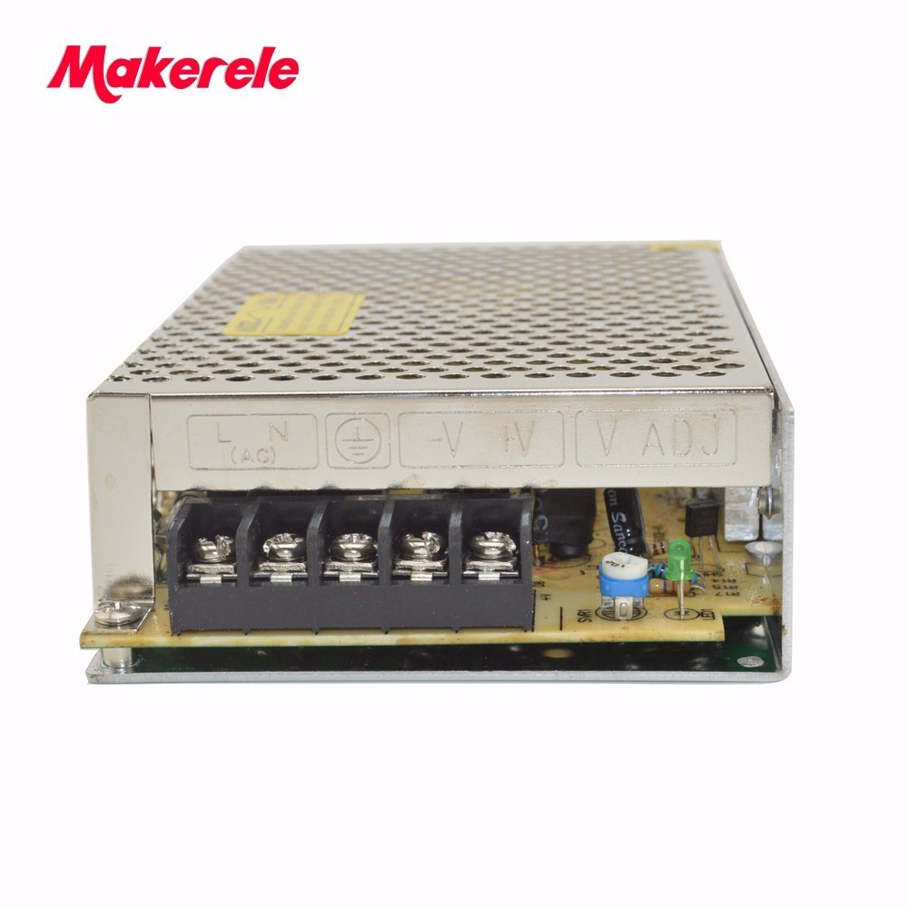 CE certified single output 18v Small volume S-75-18 for wheel AC DC 18V output 75w 220v dc switching power supply