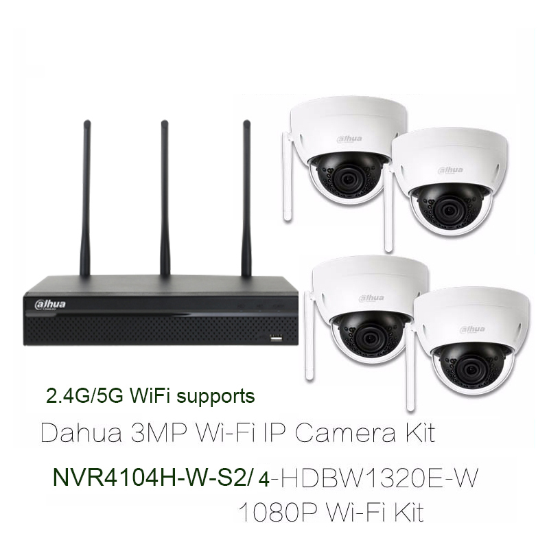 US $475 0 5% OFF|Aliexpress com : Buy 4PCS 3MP WIFI IP Cameras 1Pcs 4  Channel WIFI Network NVR System Kit Smartphone Remote view from Reliable  wifi ip