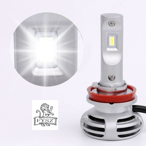 Image 2 - 2Pcs W50 H11 LED Auto Headlight H1 h4 H7 9005 9006 9012ultra bright headlamps fog lamp refitted distant light 6000K Auto lamp