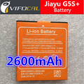 Jiayu G5S+ battery 2600mAh Large High Capacity Plus 100% New Cell Phone Replacement backup Bateria