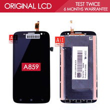 100% Tested Original IPS 1280×720 Display For Lenovo A859 LCD With Touch Screen Digitizer Assembly Replacement Parts