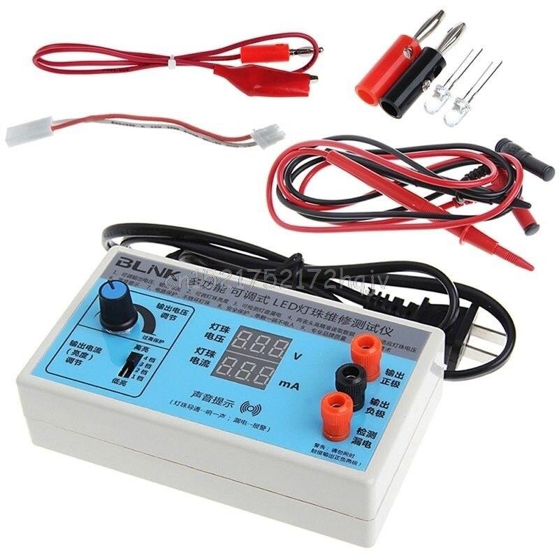AC 220V LED תצוגת מסך עם אור תאורה אחורית LCD בוחן לוח חרוז מנורת O31 dropship