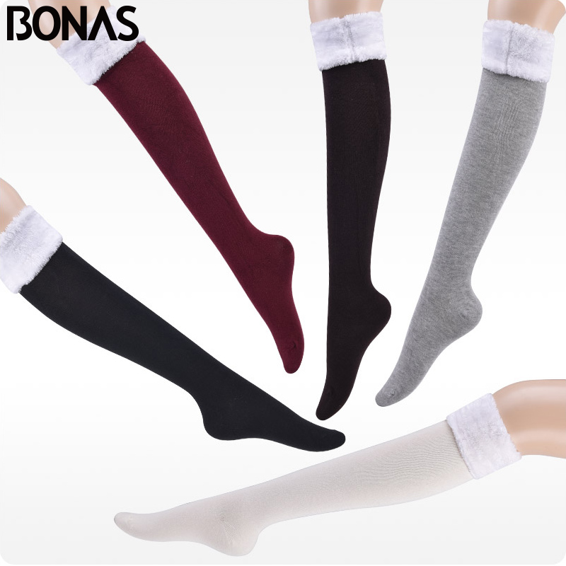 Winter Wamer Women Thicken Thermal Wool Cashmere Snow Socks Seamless Velvet Boots Floor Maternity Socks Pregnant Stocking Thick With The Best Service Damenmode