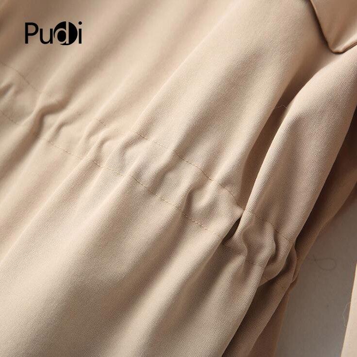 Loisirs Nouvelle Pudi Veste Hiver Manteau Poche Polyester Renard Mode Femmes Parka Automne 2018 Col Ro18016 Long Dame Style aqBwxXSa