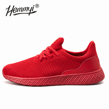 2019 Sneakers for Men New Solid Color Black Red Gray Lightweight Sport Shoes Men Soft Running Shoes Male Gym Plus Size 11 12 13