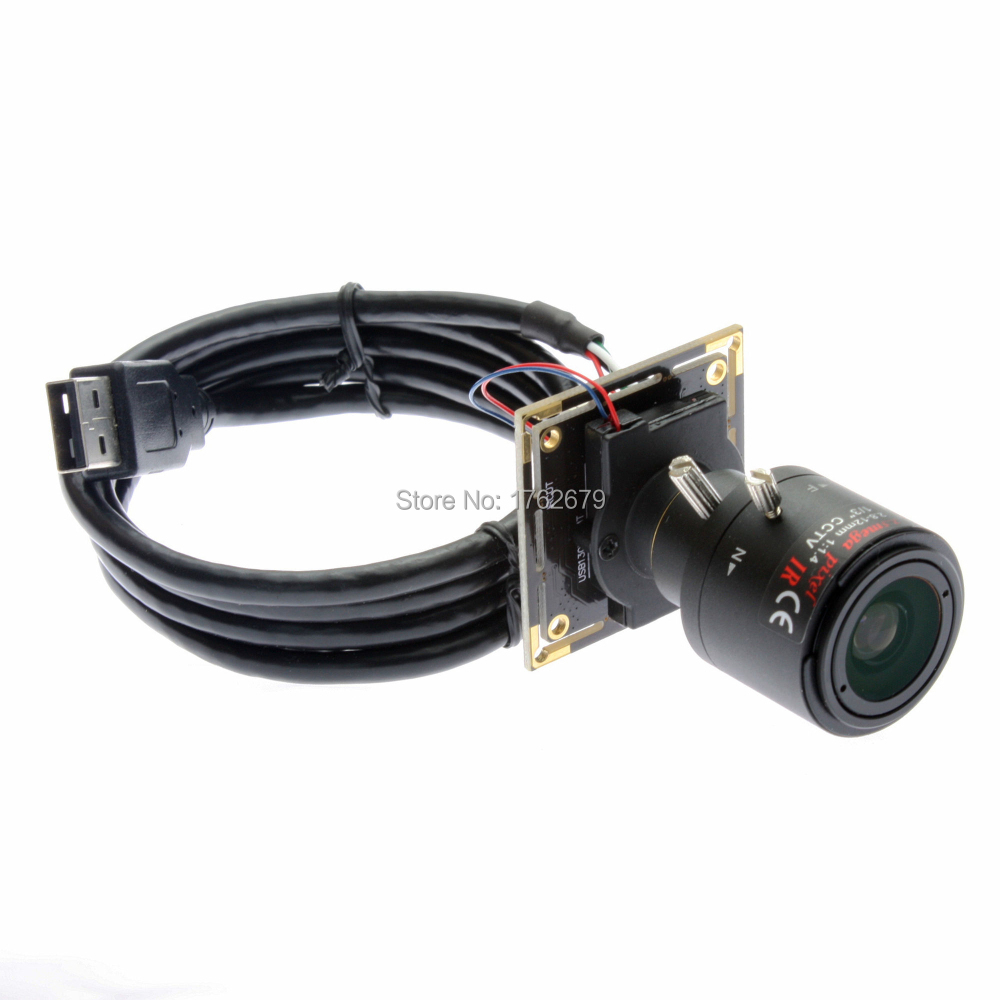 HD 1.3 megapixel 1280 x 960 AR0130 senor usb security micro camera module with 2.8-12mm varifocal lens IR cut hd 1 3mp 1280 x 960 2 8 12mm varifocal lens aptina ar0130 cmos sensor android mini box usb camera module with high speed usb 2 0
