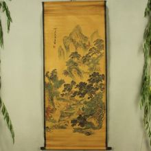 цены Antique collection Imitation ancient Wang Jian send tea diagram