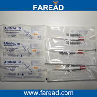 X40pcs 1 4 8mm Pet Syringe FDX B 1pc Animal Reader RFID 134 2KHz