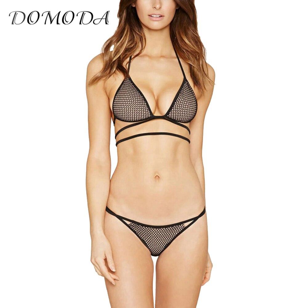 DOMODA font b 2017 b font New Fashion Women Soft Mesh Panties Black Sexy Push Up