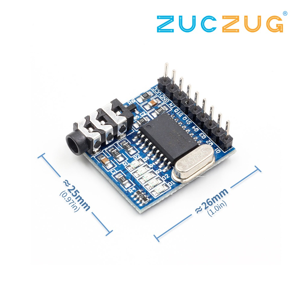 Dtmf Decoder Encoder Module Indicator Dual Tone Multi Frequency Generator 1pcs Mt8870 Voice Decoding Phone
