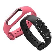 Mijobs Bracelet for xiaomi mi band 2 Strap Silicone Strap mi band 2 Bracelet Wristbands Band wrist Strap for xiaomi mi band 2