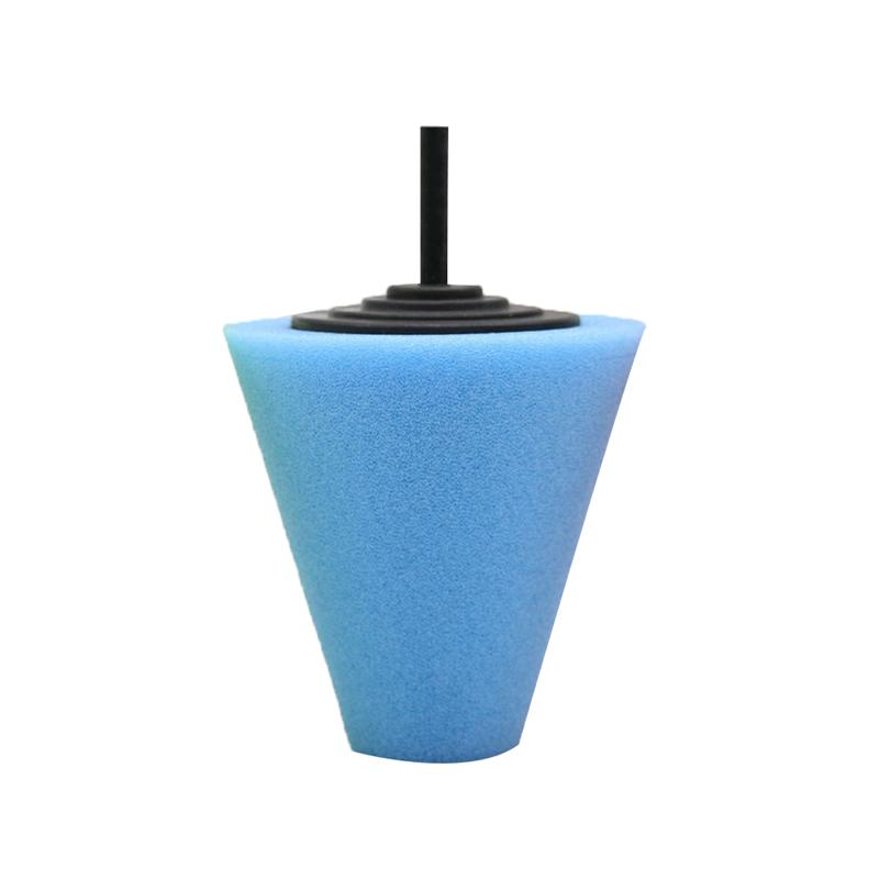 3 Inch Cone-shaped Sponge Foam Pad Polishing Wax Polishing Pad Tool for Car Care