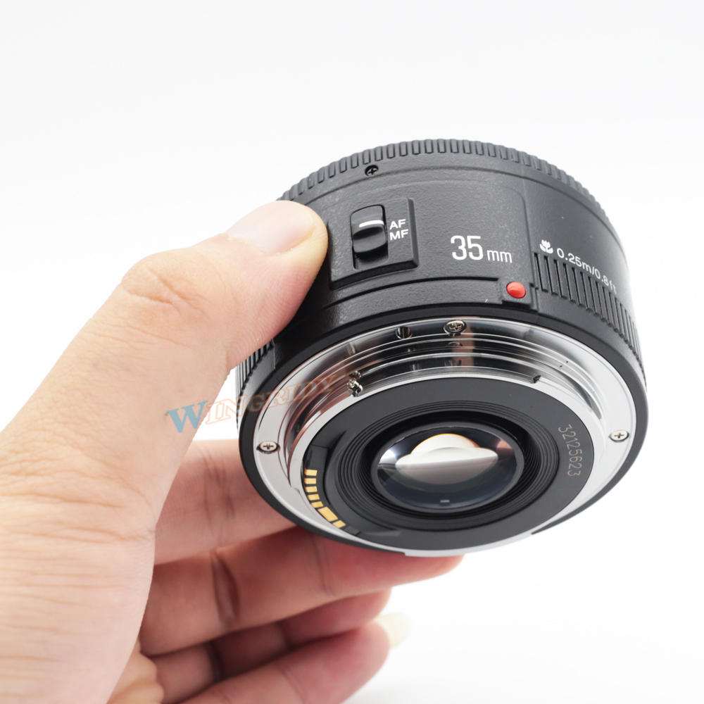 Image 4 - YONGNUO YN 35 مللي متر F2 كاميرا عدسات لنيكون كانون EOS YN35MM العدسات AF MF واسعة زاوية عدسة ل 600D 60D 5DII 5D 500D 400D 650D 6D 7Dlens for canon 600d35mm lenslens for canon -