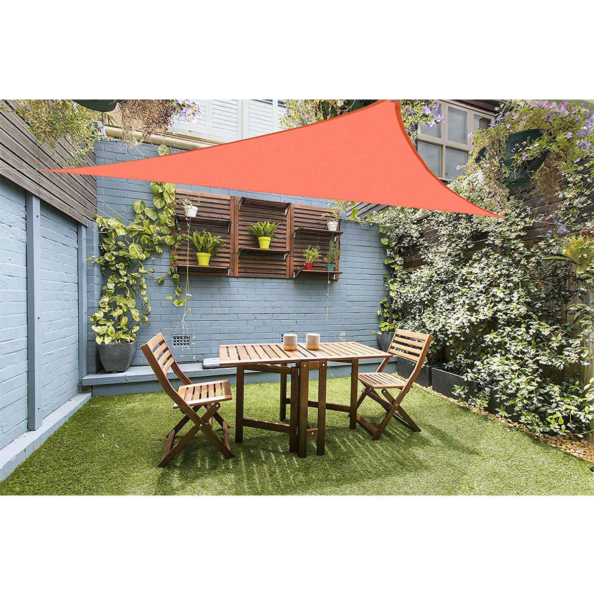 Right triangle 3x4x5m Waterproof Sunproof Mesh Net Sun Shade Sail UV Protection Sun Shelter Awning Sunshade Nets Yard Garden Стол