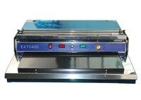 Máquina de sellado de película fresca de plástico HW-450 con envío gratis