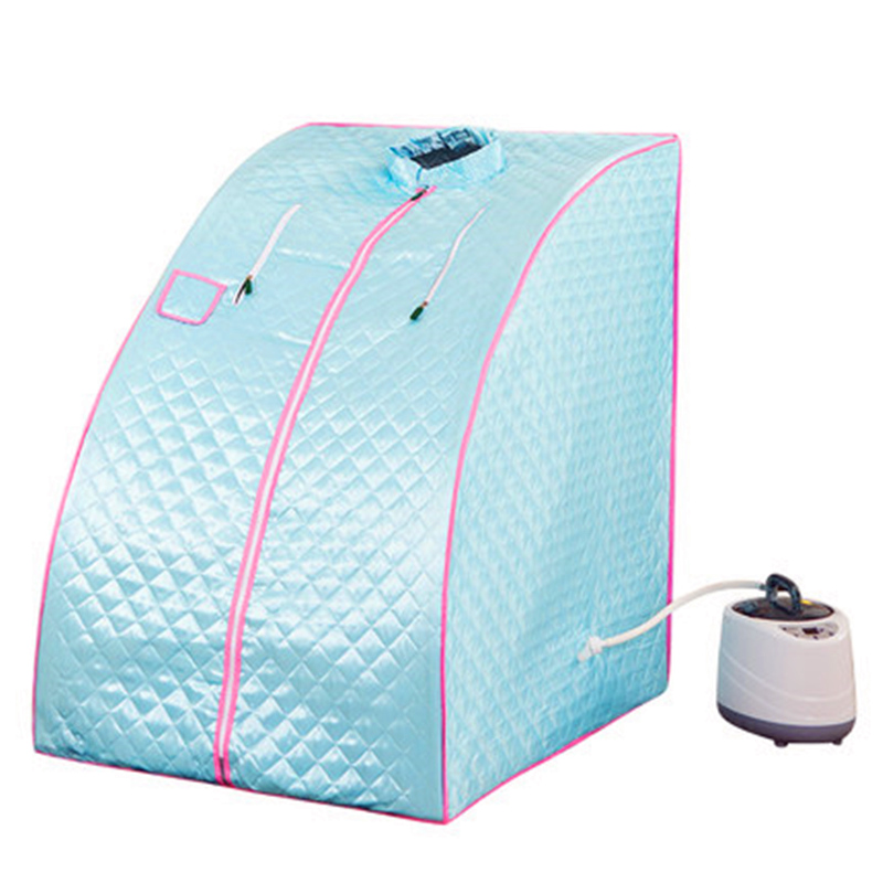 Portable Steam Sauna Home Sauna Bath 1000W 2L EU US UK AU Plug STEAM BATH Sauna