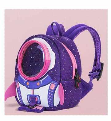 Joyloading 3D Cartoon Astronaut Design Kids Backpack Students Preppy  Schoolbag Children Pack 5dc7c999ea