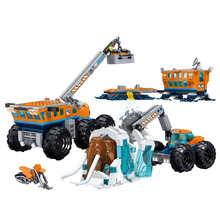 New City Arctic Exploration Compatible Legoing 60195 Model Building Block Bricks Toys Children Gifts Christmas 28020