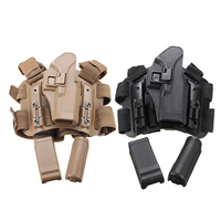New Tactical Army Leg Holster Hand Thigh Holster Belt Magazine Pouch for Glock 17 19 22 23 31 32