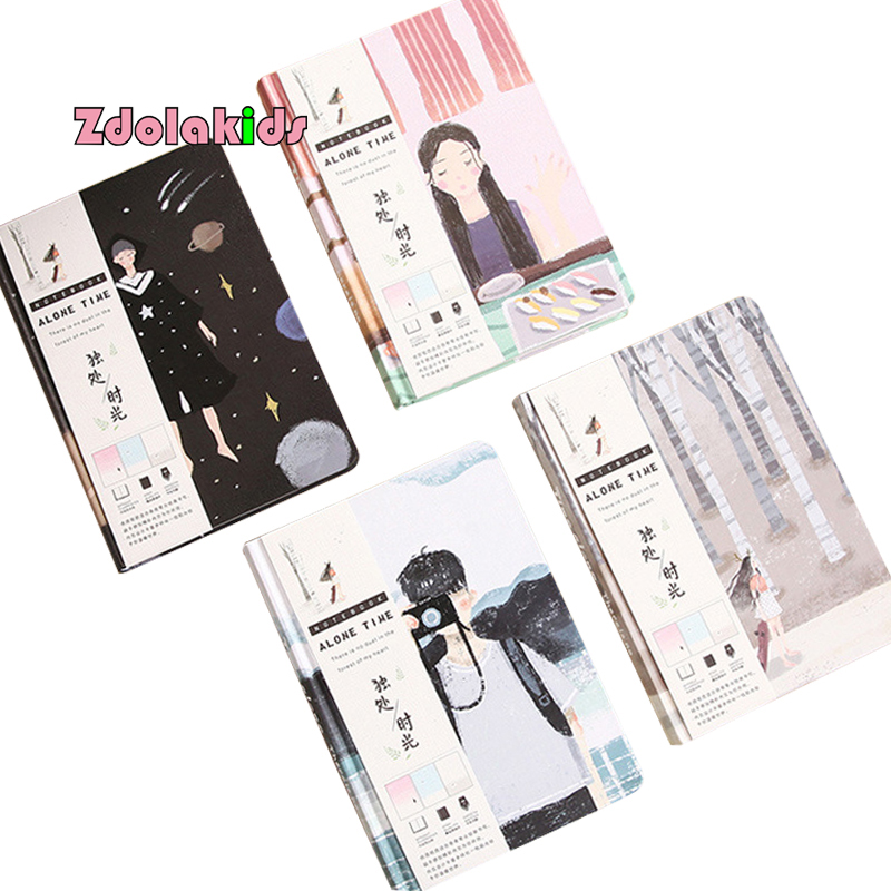 Aliexpress.com : Buy Time Alone Beautiful Notebook Color