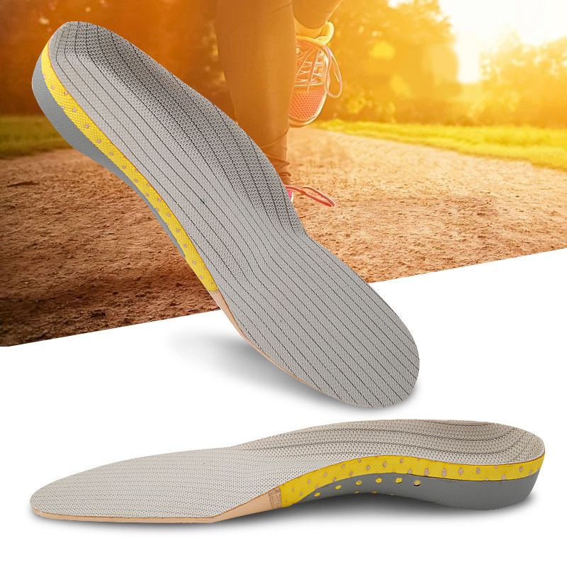 Orthotic Arch Support Shoe Pad High Quality EVA Insoles For Shoes Breathable Shock Absorbant Foot Pads Massage Insole XD-068