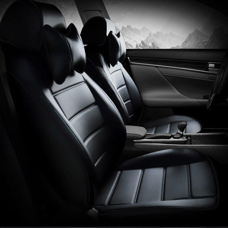 Housse de siège de voiture en cuir sur mesure pour Cadillac SLS ATSL CTS XTS SRX CT6 ATS Escalade accessoires de voiture style de voiture