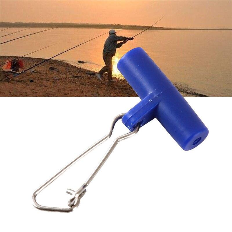 10X Fishing Sinker Plastic Slip Clips Head Swivel With Hook Snap Slide Swivel HI