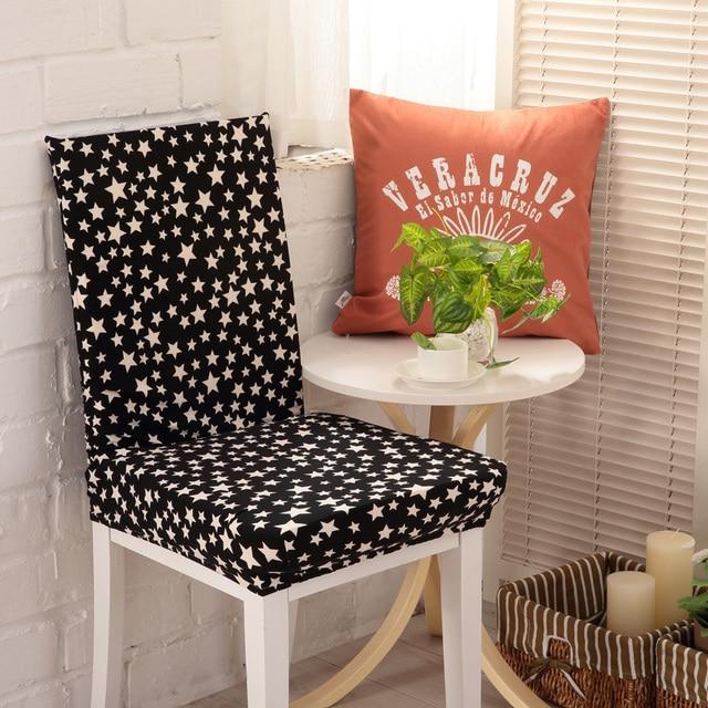 4 STÜCKE Spandex Stretch Küche Keine Sessel Abdeckung Stuhl Schutzhülle/Stuhl  Fall Für Bankett Hotel