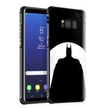 Здесь можно купить  Retro 3D Relief Black cartoon batman Cat Star soft tpu cover Case for Samsung Galaxy S8 Plus Samsung S8 case with screen film