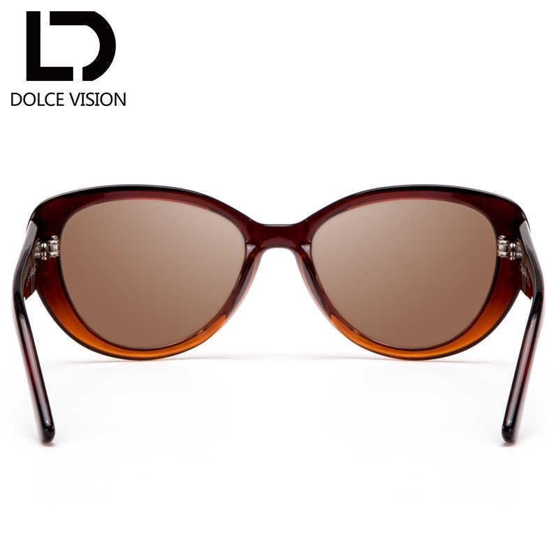 3a31e2b0d3d ... DOLCE VISION Cat Eye Glasses Women With Prescription 1.67 Index Lens  Myopia Glasses Brand Design Eyewear ...