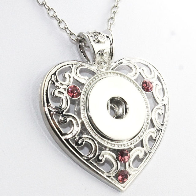 Online shop 3 colors 2016 newest love heart pendants with crystals 3 colors 2016 newest love heart pendants with crystals metal snap button jewelry for women ne231 fit 18mm snaps 031005 mozeypictures Images