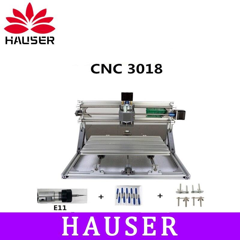 E11 CNC 3018 GRBL contrôle bricolage laser machine de gravure ER11 CNC, 3 axes pcb fraiseuse, bois CNC routeur, sculpture sur bois