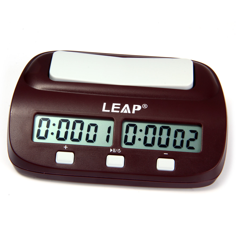 New Arrival Leap Digital Chess Clock Count Up Down Timer Electronic From Old Quartz Electronics For You Board Game Player Set Portable Handheld Man Piece Master In Specialty Clocks Home