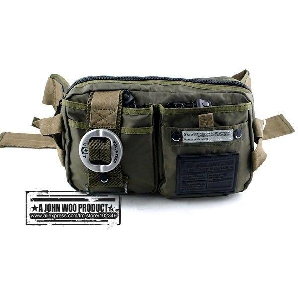 2013 Water proof nylon Waist bag, leisure waist bag, Sports and military style messenger bag