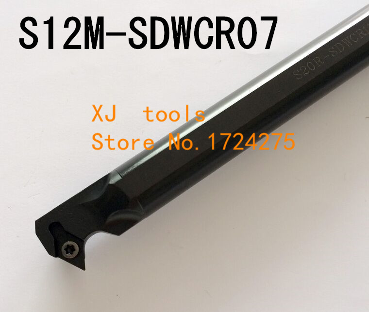 S12M-SDWCR07/S12M-SDWCL07 Boring Bar Internal Turning Holder,SDWCR/L Lather Boring Bar,CNC Cutting Tool Holder For DCMT070204