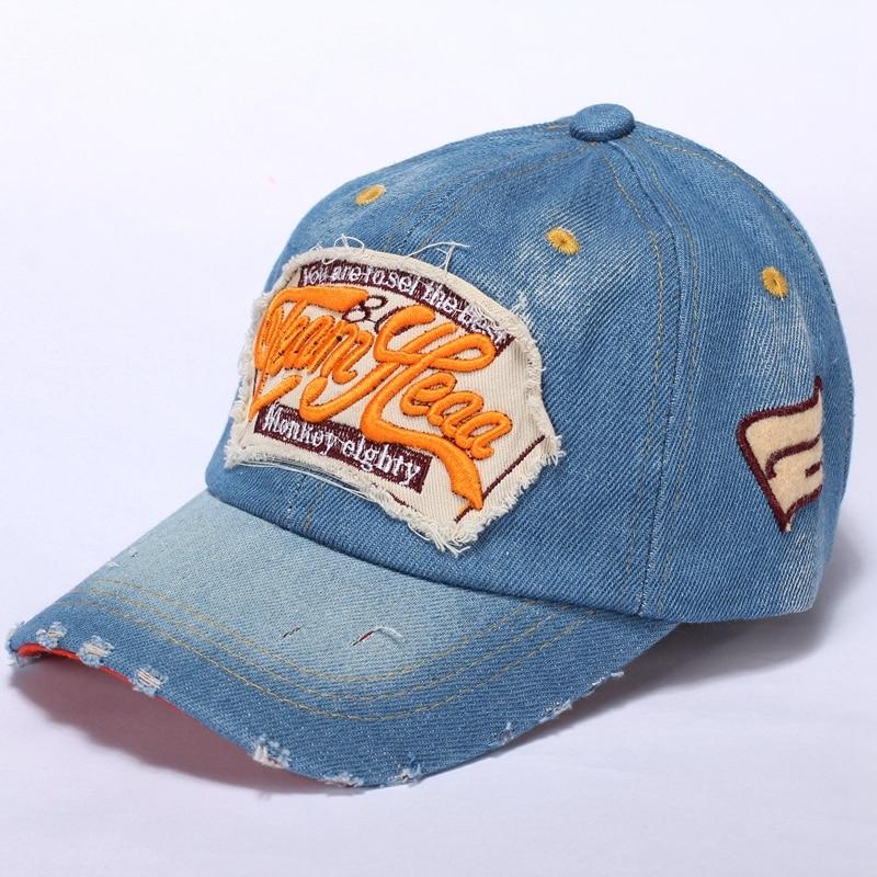 3587afd06 2017 New Kids Cotton Caps Boys Baseball Caps Summer Jean Hats Children Caps  Girls Baseball cap 3 8 Ages Baby Children Hat gorras-in Hats & Caps from  Mother ...