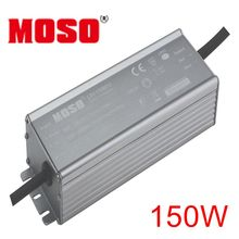ФОТО 150W 24VDC MOSO LSV constant voltage LED driver IP67 water proof  with AL case  for outdoor lights power supply