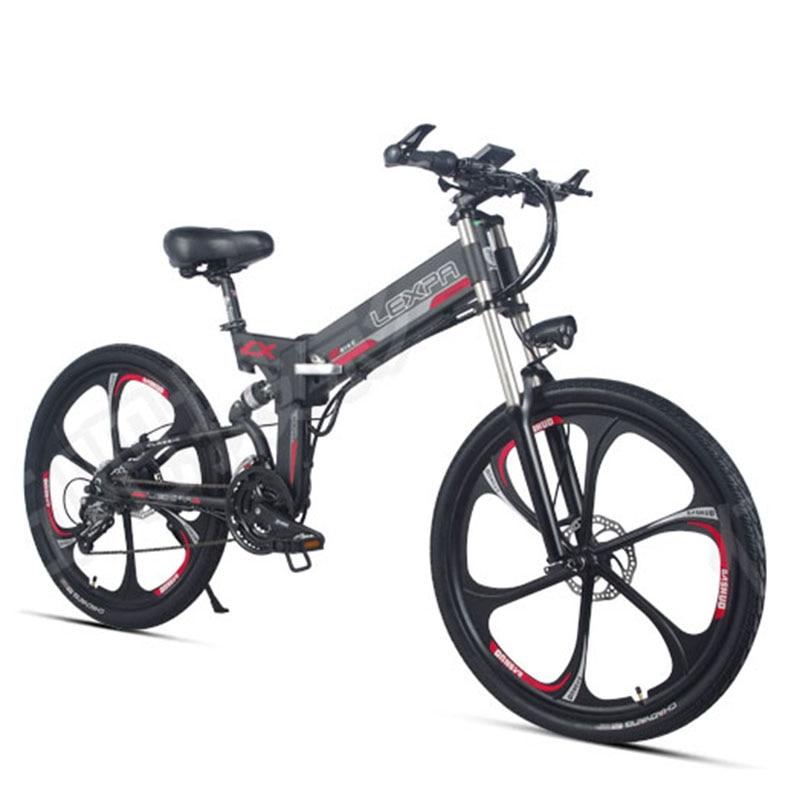 26 pouces vélo de montagne électrique 48V400W haute vitesse moteur queue Molle Descente vélo GPS Double suspension électrique ebike