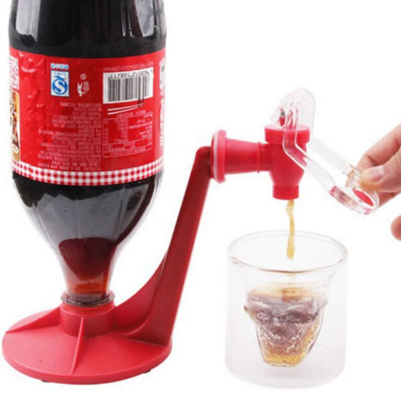 Upside Down Drinking Fountains Cola Beverage Switch
