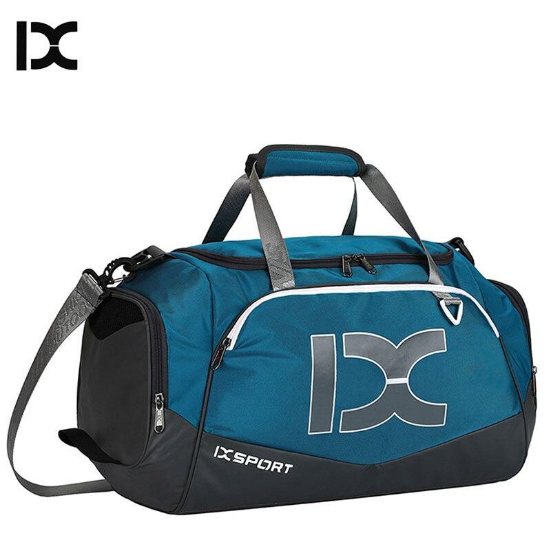 40L Dry Wet Gym Bags For Fitness Travel Shoulder Bag Handbag Waterproof Sports Shoes Women Men Sac De Sport Training XA473WA