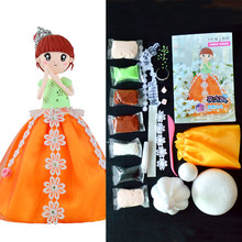 Slime Klei Set DIY Pop Handwerk Clay Western Princess Pop Met Jurk En Klei Slime Levert Onderwijs Craft Slime Kit(China)