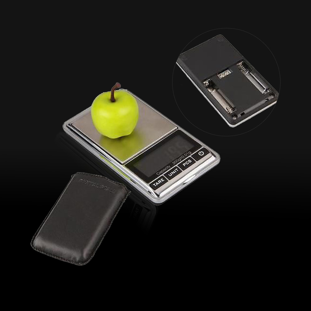 New Arrival 1pc Professional Mini 300g x <font><b>0.01g</b></font> <font><b>Digital</b></font> <font><b>Scales</b></font> Pocket Electronic Jewelry <font><b>Scale</b></font> Balance <font><b>Weight</b></font> LCD Display image