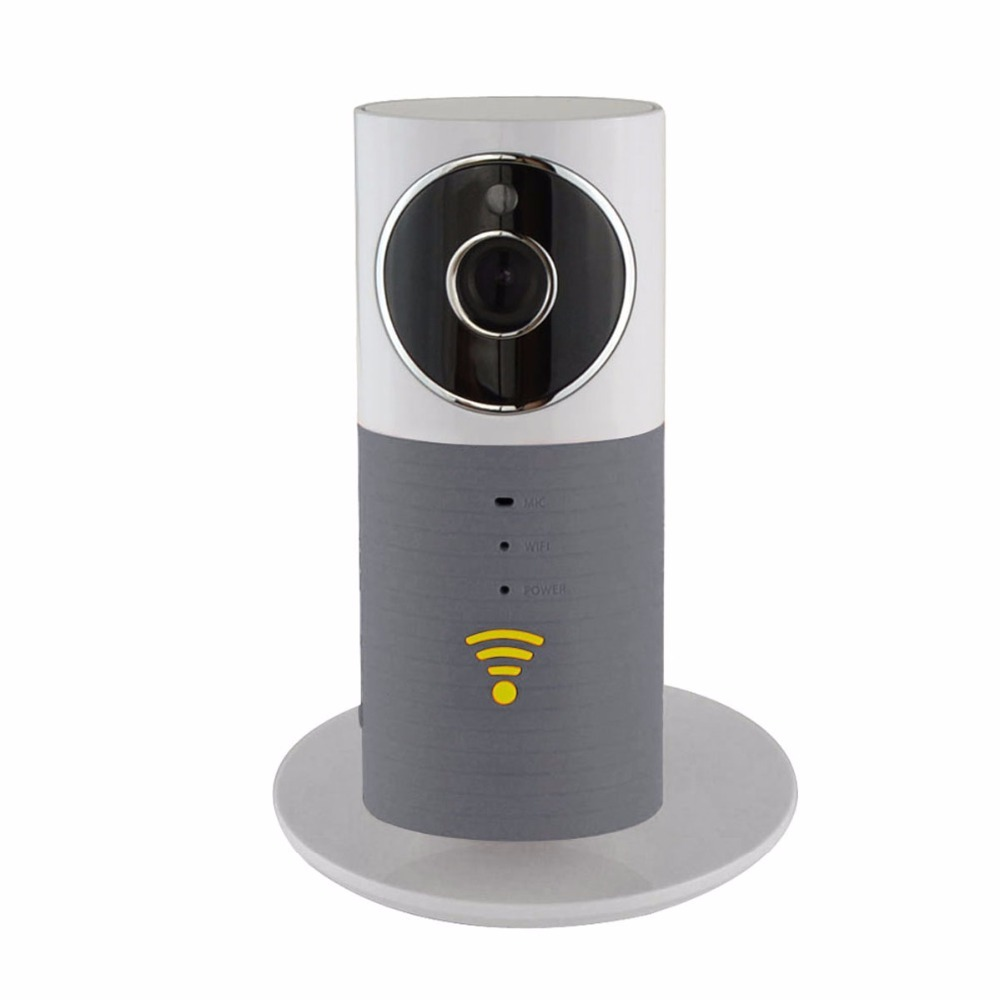 PARASOLANT IP Camera Clever Dog Wireless Smart 720P High Definition Night vision infrared Prevention of breakageWhite Grey