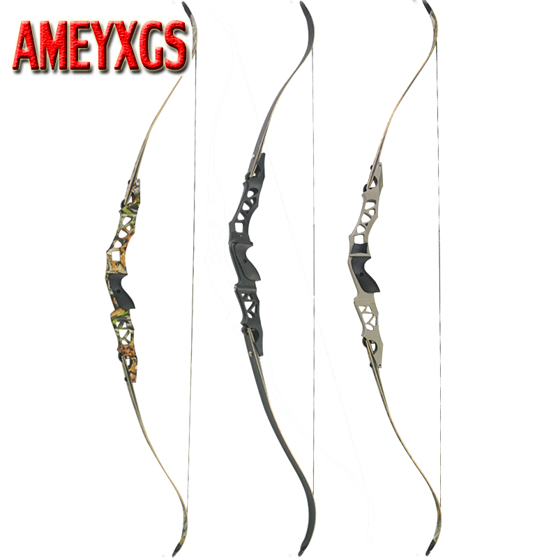 1pc 64 Inch Archery Recurve Bow F166 ILF Takedown Bow 30 55Lbs Shooting Hunting Outdoor Sports