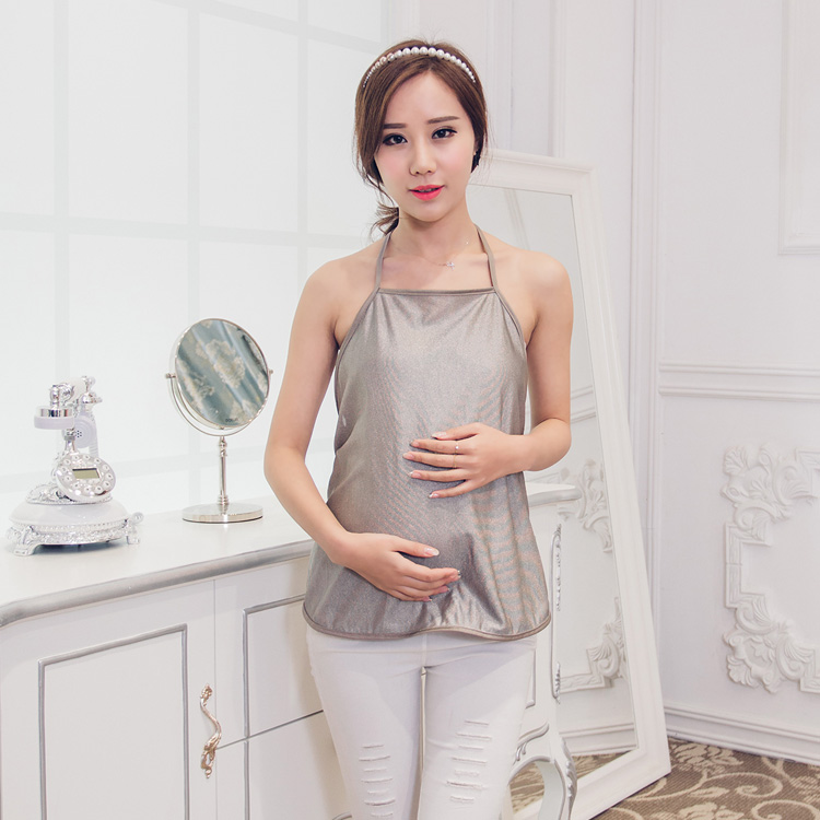 Korean version of the fashion radiation clothing genuine silver fiber harness radiation maternity dressKorean version of the fashion radiation clothing genuine silver fiber harness radiation maternity dress