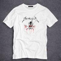 Iron Maiden AC DC Metallica Rock Printed T Shirt Men S Fashion T Shirt Hip Hop